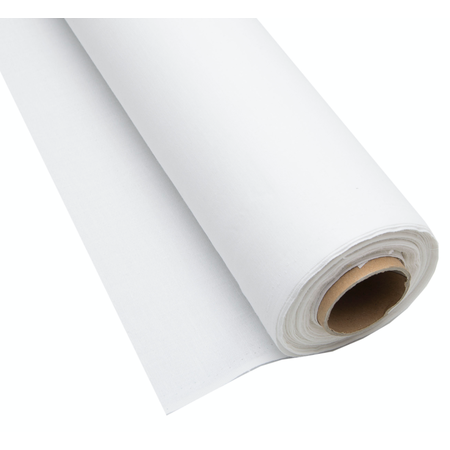 100% witte katoen stof 160cm (per 50cm)