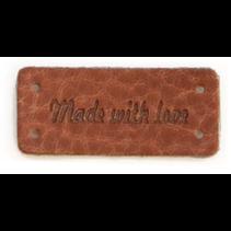 Label Leder Made With Love