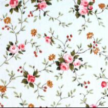 Stof kleine bloem 100% Katoen (per 10cm)