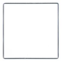 Metalen frame vierkant 15cm