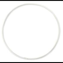 Metalen Ringen wit 80cm