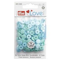 Love drukknoop Color Snaps Mini 9 mm mint
