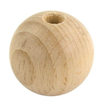 Houten kraal 40mm