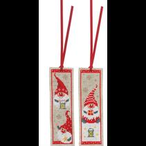 Bladwijzer kit kerstkabouters set van 2