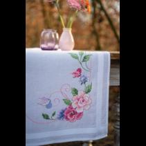 Loper kit bloemen en vlinders