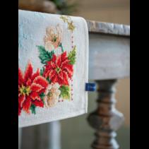 Pearkaida loper kit kerstbloemen