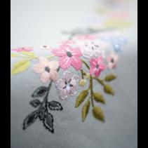 Tafelkleed kit bloempjes en blaadjes