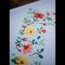 Tafelkleed kit frisse bloempjes