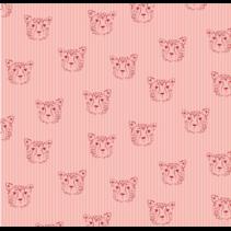 Leopard Portrait Cotton 01 150cm (per 10cm)