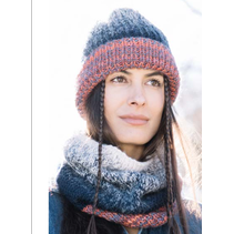 Breipakket Knit-ensemble muts en sjaal  kleur 400