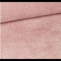 LUZ zachte stof fijne ribbel roze 155cm 203(per 10cm)