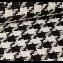 Pied de poule zwart-wit 145cm (per 10cm)