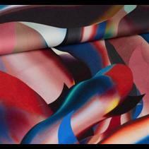 Polyester veelkleurig  069 148cm(per 10cm)