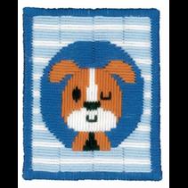 Spansteek kit knipogend hondje