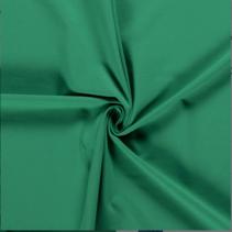 Tricot effen groen (per 10cm)