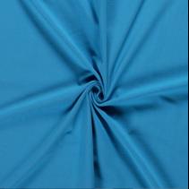 Tricot effen aqua (per 10cm)