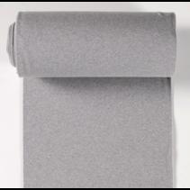 Boordstof effen lichtgrijs (per 10cm)