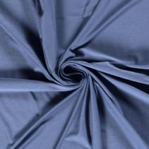 Bamboe jersey effen indigo (per 10cm)