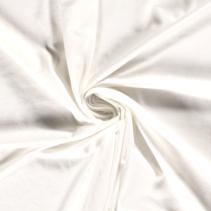 Bamboe Jersey effen gebroken wit (per 10cm)
