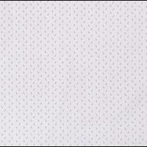 Poplin bloempjes lichtgrijs (per 10cm)