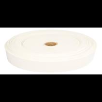 Stevig geweven elastiek 25mm wit (per m)