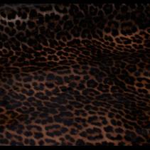 Abby regenjasstof leopard  135cm (per 10cm)