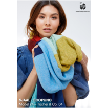 Breipakket sjaal Ecopuno Var.1
