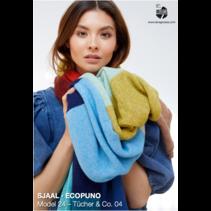 Breipakket sjaal Ecopuno Var.4