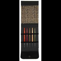 Haaknaaldset Design hout Signal lichtbruin