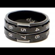 metalen rijenteller Ring (gr. 8)