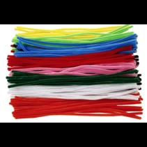 Chenilledraad 30cm diverse kleuren