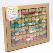 Stone Washed-River Washed Colour Pack 58x10g