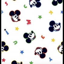 Poplin Disney Mickey