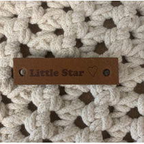 lederen label Little star cognac
