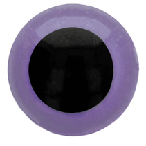Veiligheidsogen tweekleurig (paars) 8mm