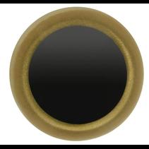 Veiligheidsogen tweekleurig (goud) 12mm