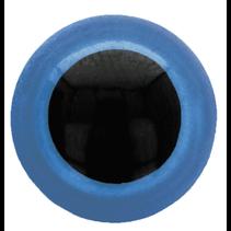 Veiligheidsogen tweekleurig (blauw) 14mm