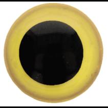 Veiligheidsogen tweekleurig (oranje) 15mm
