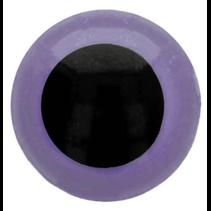 Veiligheidsogen tweekleurig (paars) 30mm