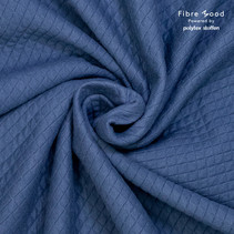 Knit co/pl QuiltedSweatshirt diamond  (per 10cm)