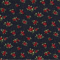 Jersey stof bedrukt met bloemen