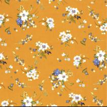 Krip stof bedrukt met bloemen