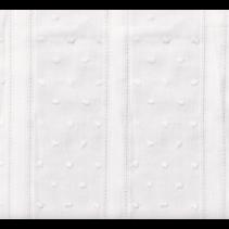 PVW1 Plumeti Vintage White