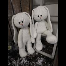 XXL Funny Bunny Basic ivoor (staand of zittend)