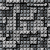 Softshell stof digitaal bedrukt met vormen (per 10cm)