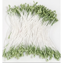 Meeldraadjes 1mm Groen  (per zakje 144 stuks)