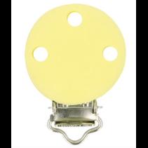 Siliconen speenklem 29,5x42,7mm geel