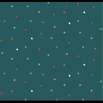 poplin hearts (per 10cm)