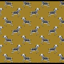 soft sweat gots happy zebra (per 10cm)