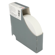 elastiek zacht 25mm wit (per 10cm)